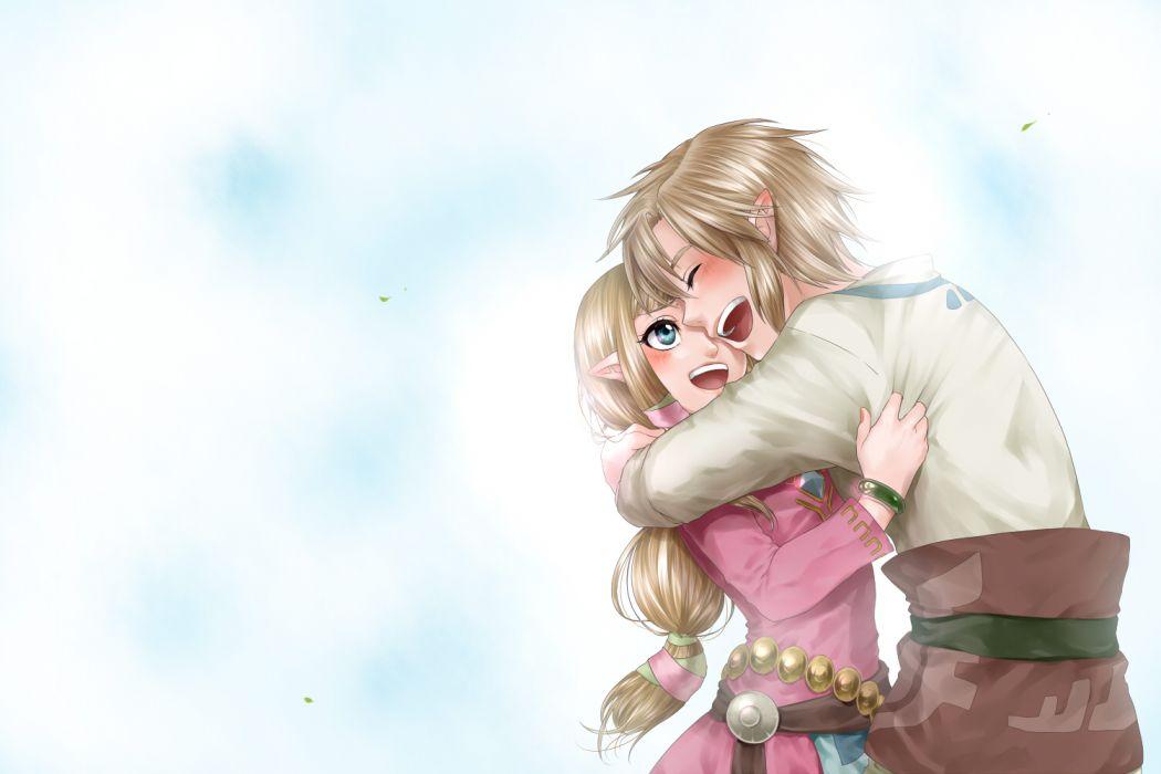 legend of zelda anime videogames wallpaper