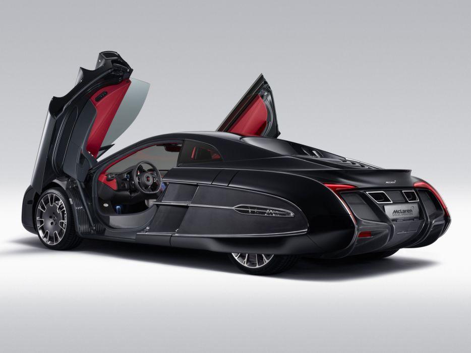 McLaren X-1 Concept supercar       f wallpaper