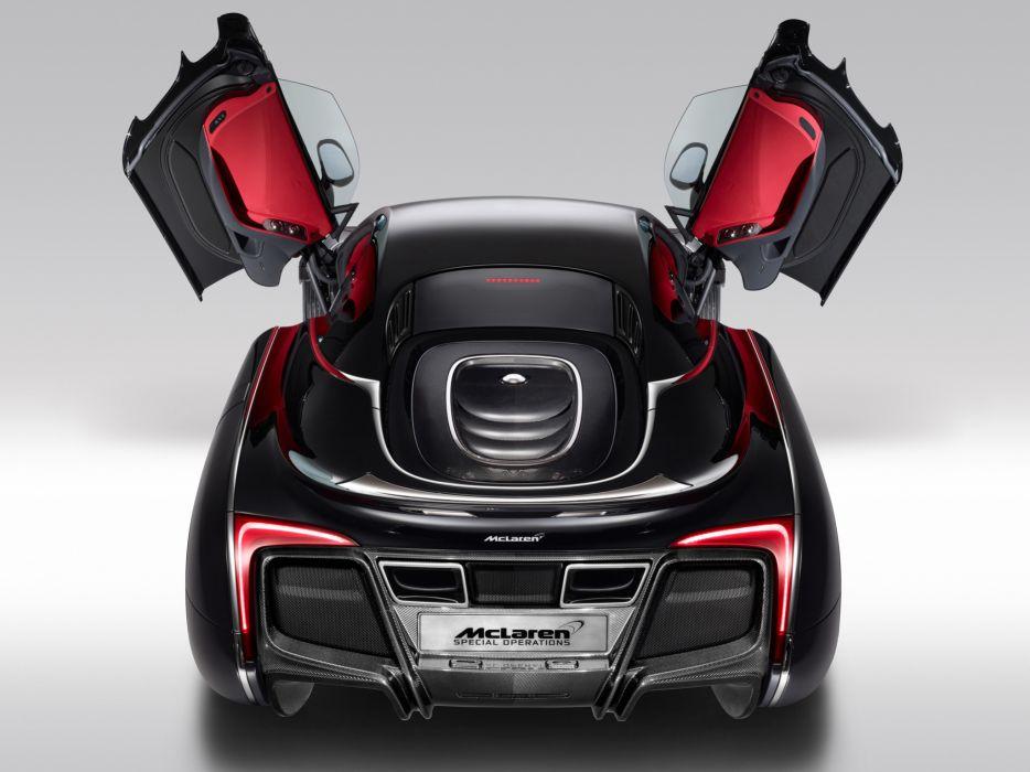 McLaren X-1 Concept supercar       h wallpaper