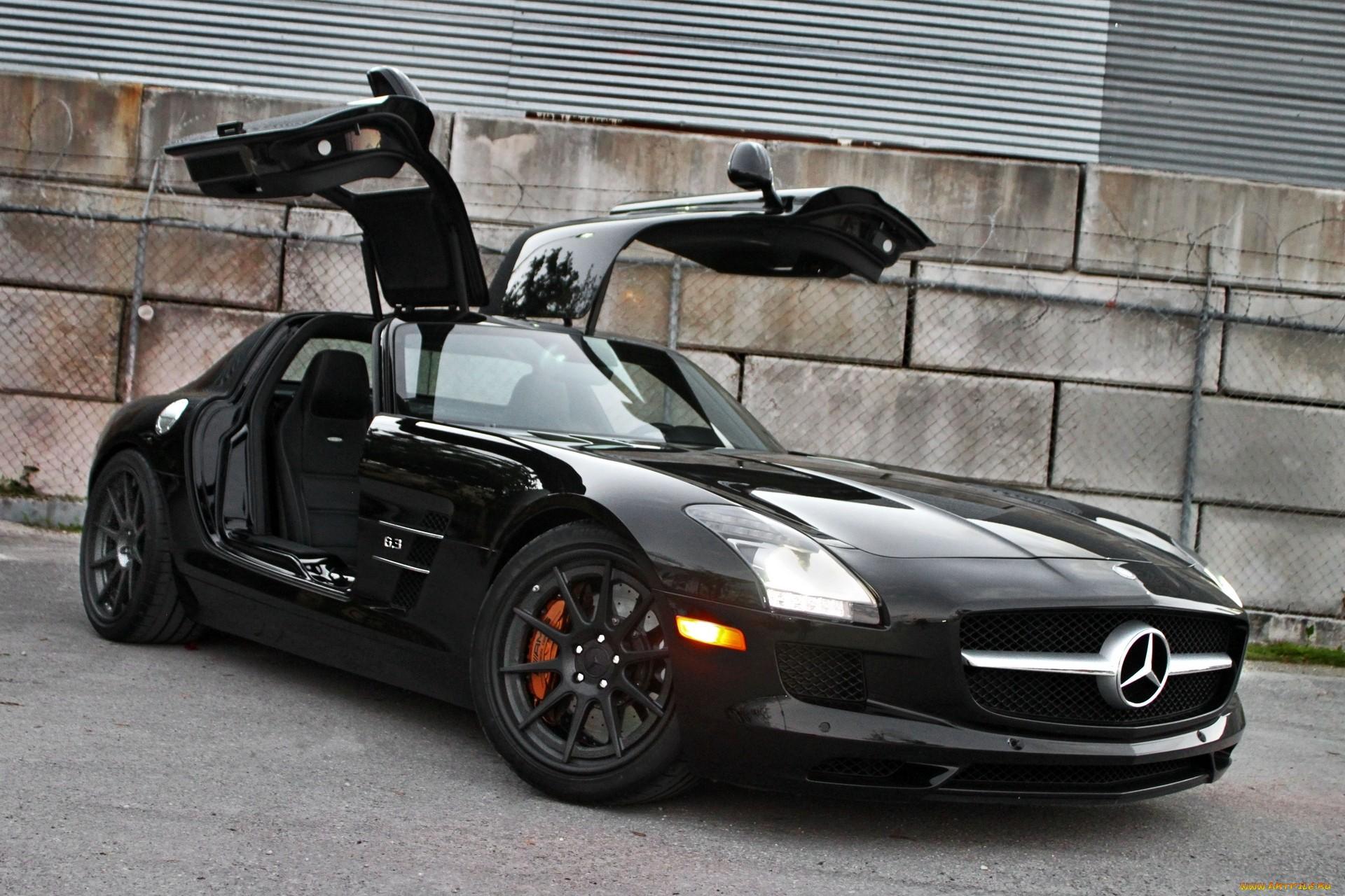Mercedes benz sls amg supercar black wallpaper 1920x1280 for Mercedes benz supercar