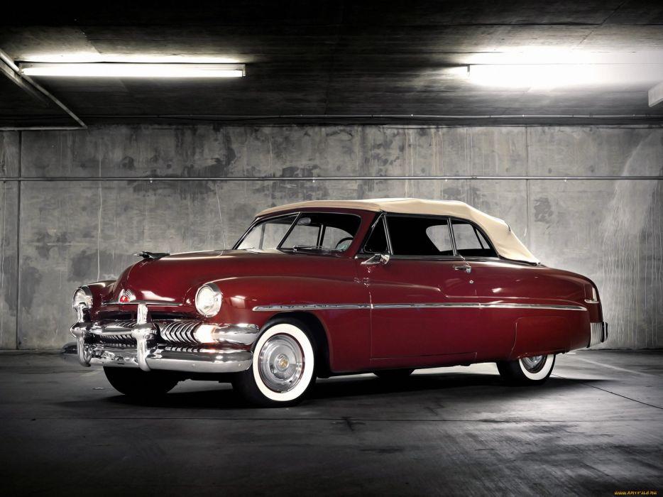 Mercury retro classic red wallpaper