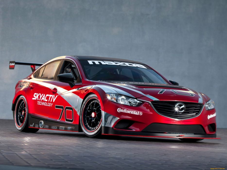 Mazda tuning race cars red wallpaper