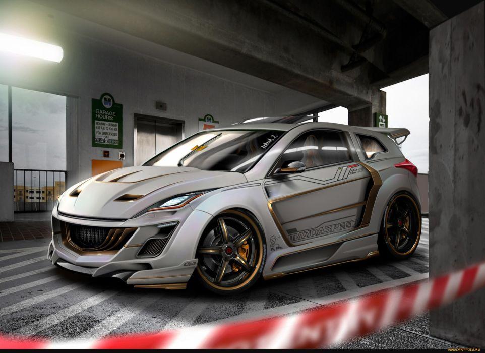 Mazda tuning wallpaper