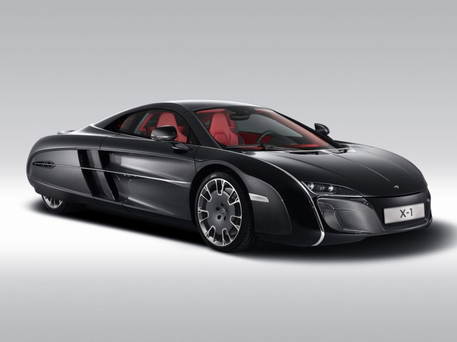McLaren X-1 Concept supercar           j wallpaper