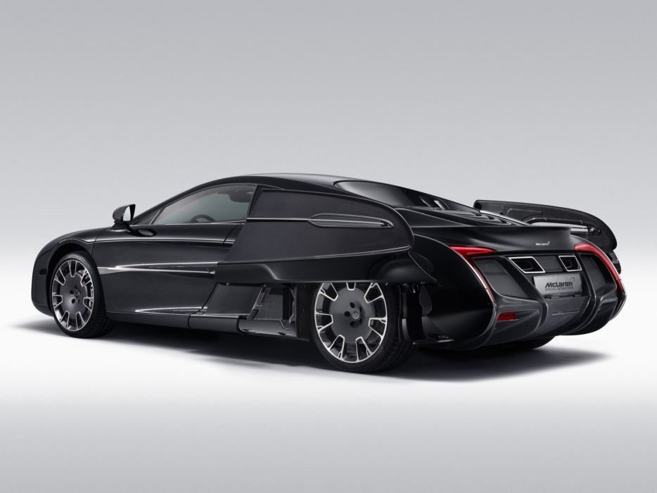 McLaren X-1 Concept supercar          w wallpaper