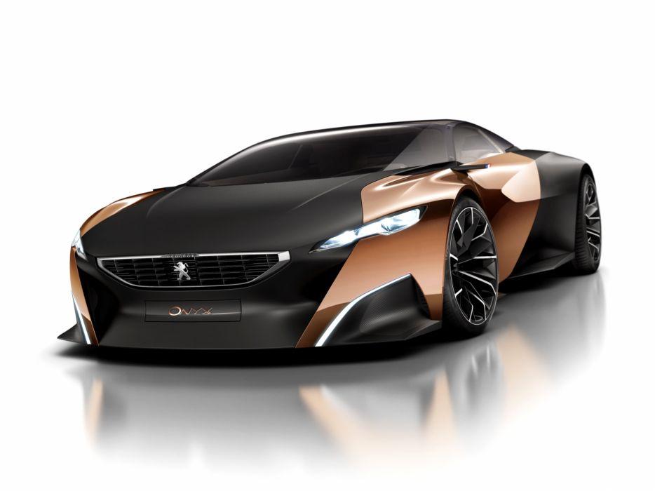 Peugeot Onyx Concept supercar            f wallpaper