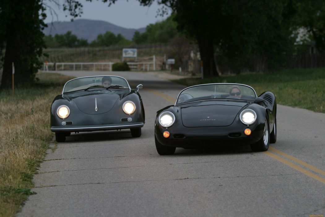 Porsche sportcar black tuning wallpaper