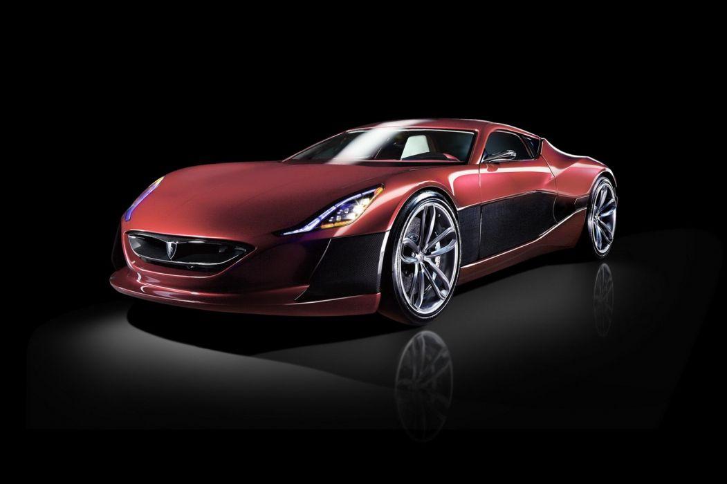 Rimac Concept One supercar       d wallpaper