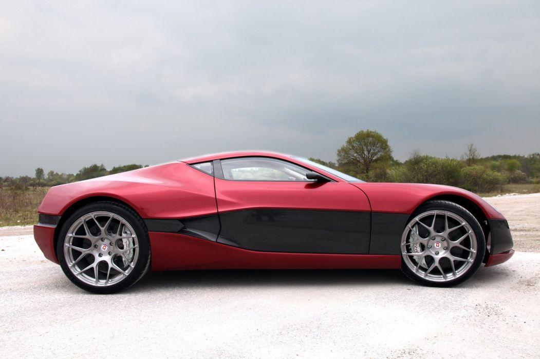 Rimac Concept One supercar       y wallpaper