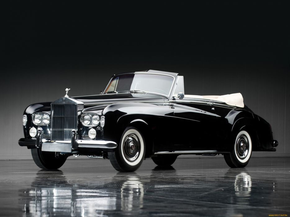 Rolls Royce classic luxury black wallpaper