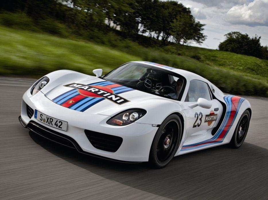 Porsche 918 Spyder Prototype supercar race cars wallpaper