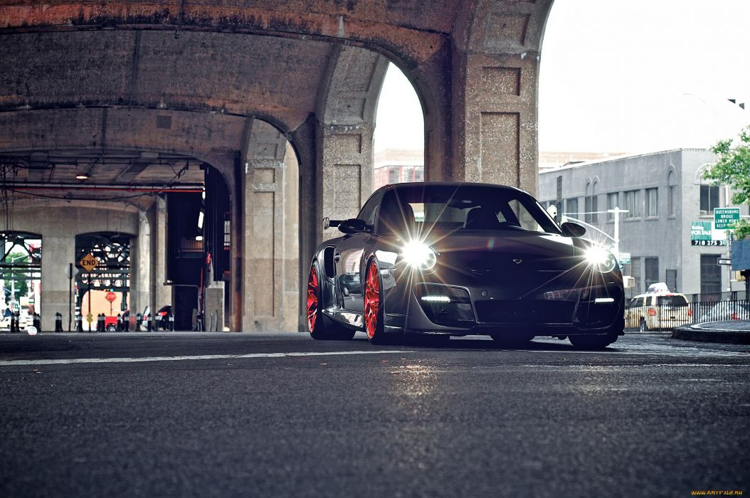 Porsche 997 Turbo supercar tuning wallpaper