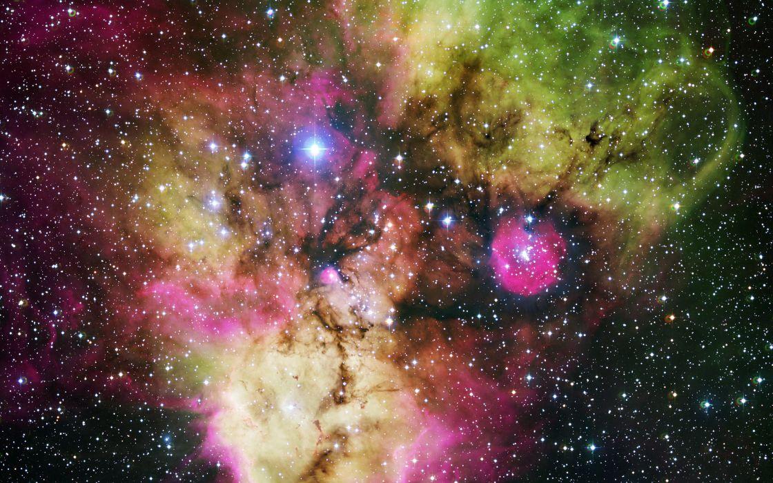 stars space nebula wallpaper