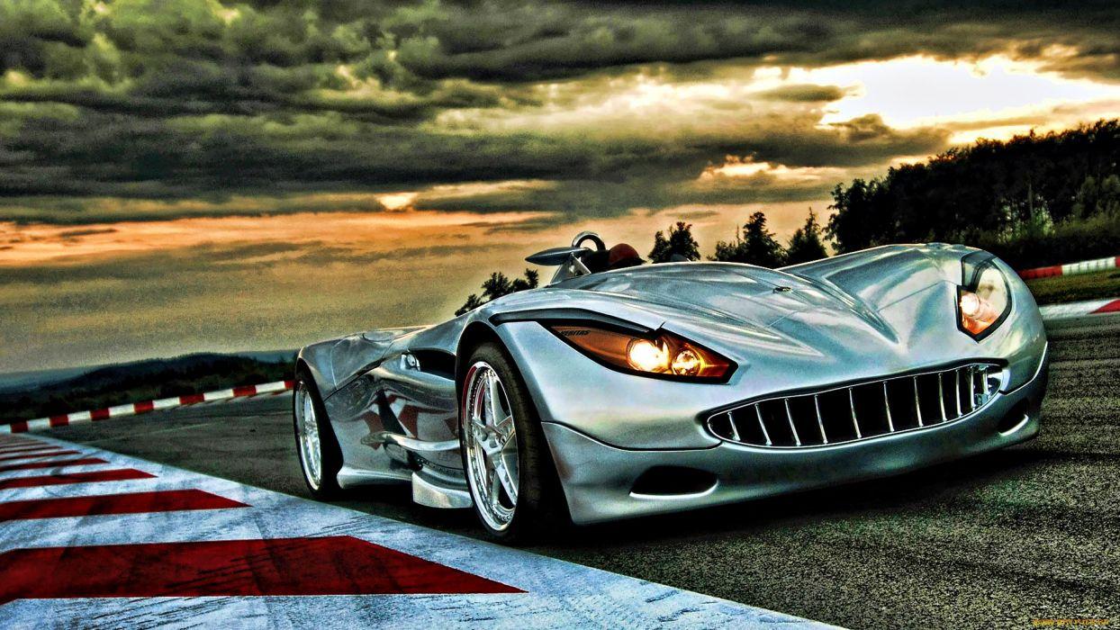 Veritas supercar hdr race track wallpaper
