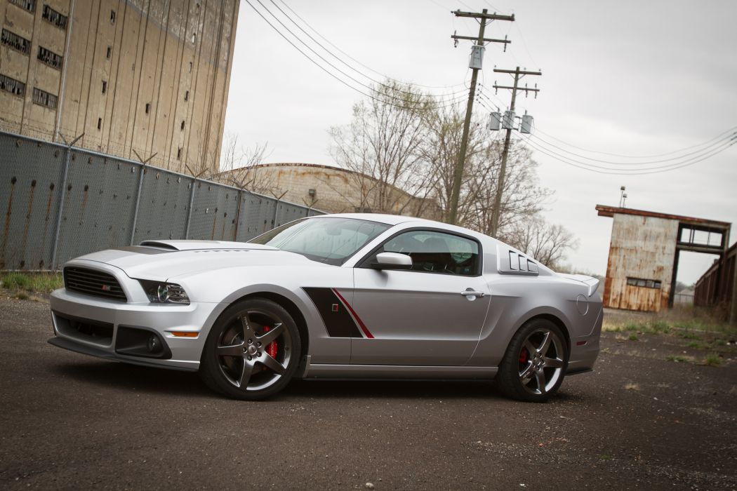 2013 ROUSH Ford Mustang muscle cars wallpaper