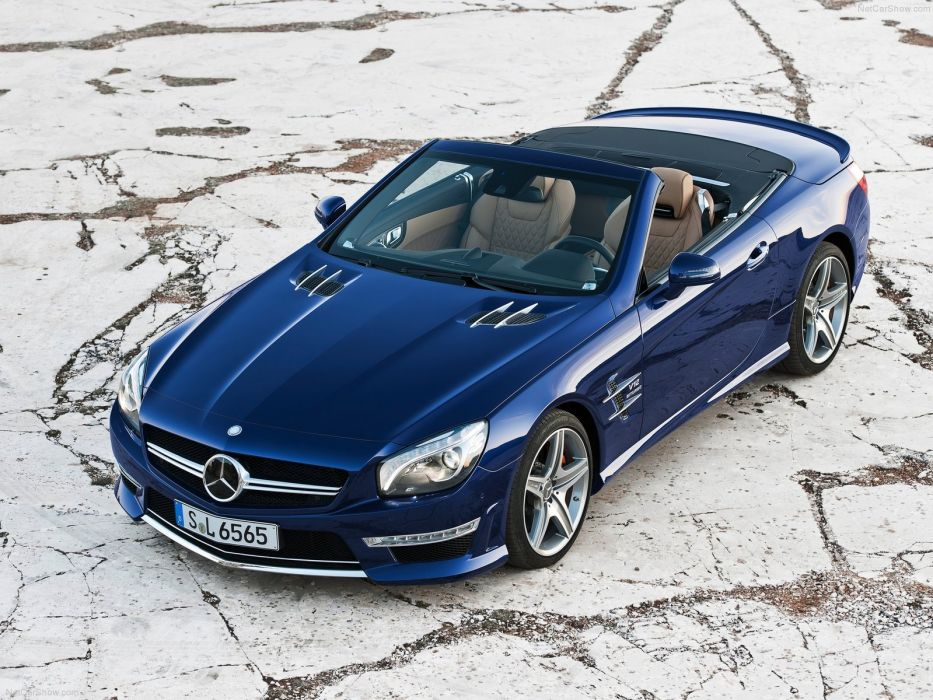 2013 Mercedes Benz SL65 AMG sportcar wallpaper