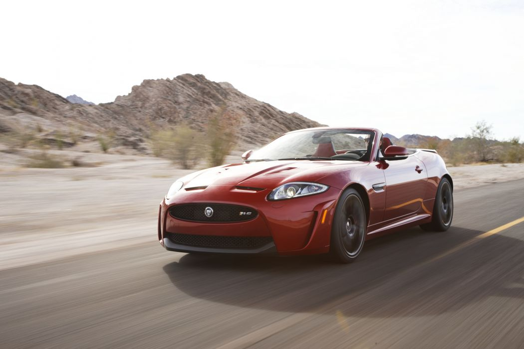 2013 Jaguar XKR-S Convertible sportcar wallpaper