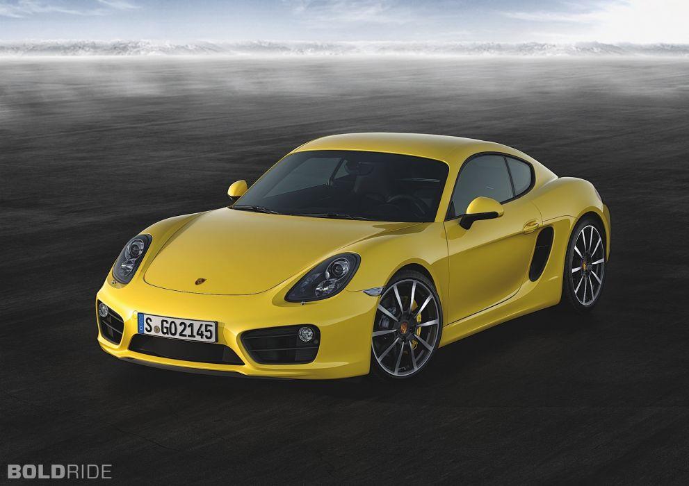 2014 Porsche Cayman S sportcar       k wallpaper