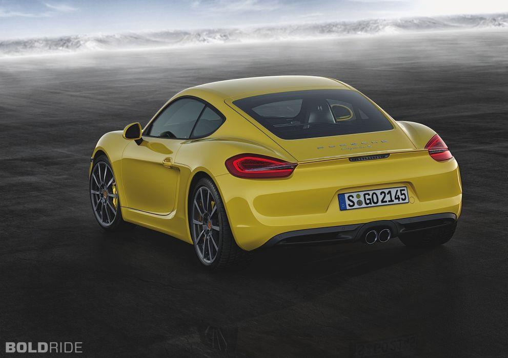 2014 Porsche Cayman S sportcar       d wallpaper