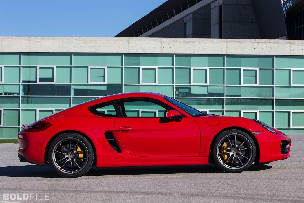 2014 Porsche Cayman S sportcar      t wallpaper