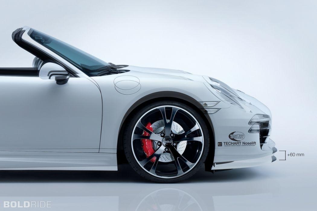 2013 TechArt Porsche 911 Carrera 4       n wallpaper