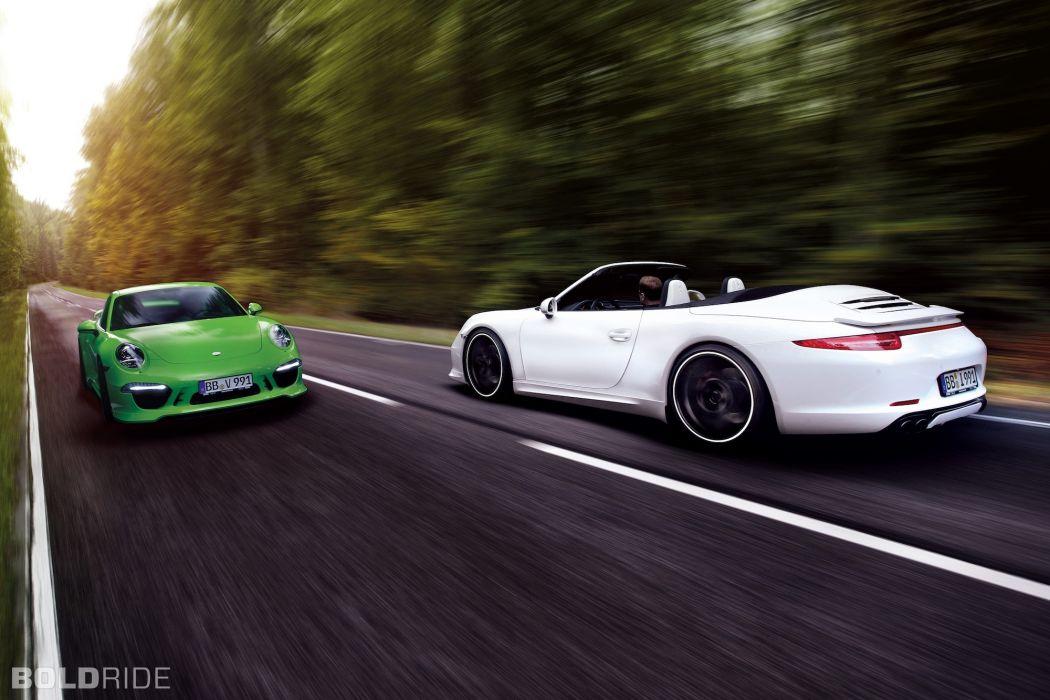 2013 TechArt Porsche 911 Carrera 4      t wallpaper