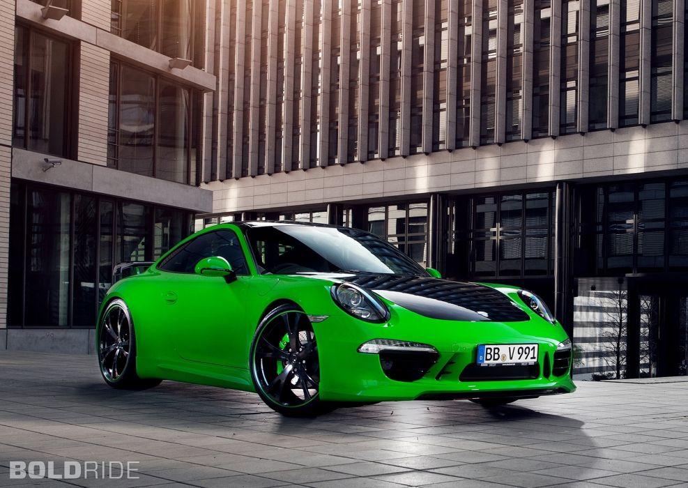 2013 TechArt Porsche 911 Carrera 4 wallpaper