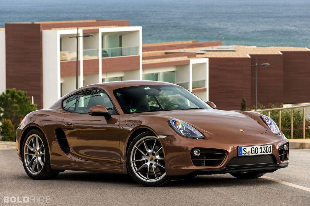 2014 Porsche Cayman sportcar wallpaper
