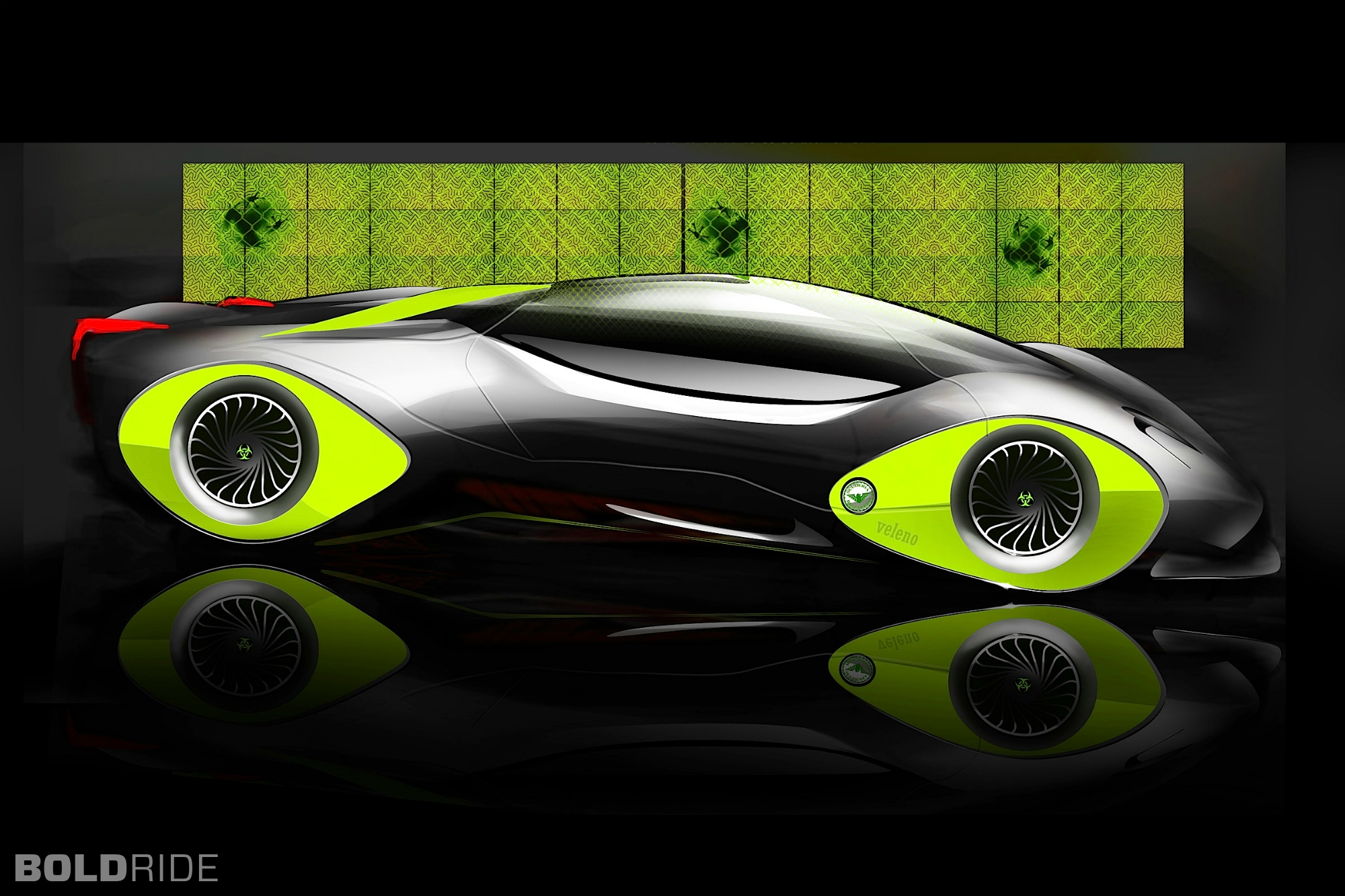 2030 Bizzarrini Veleno Concept By Borys Dabrowski Supercar