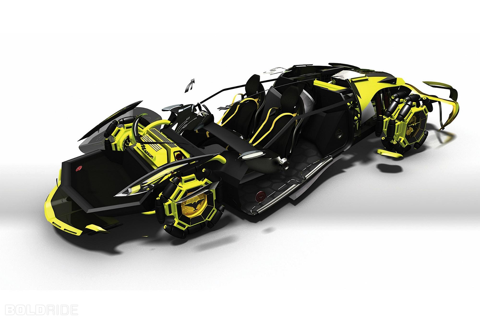 2030 Bizzarrini Veleno Concept By Borys Dabrowski Supercar