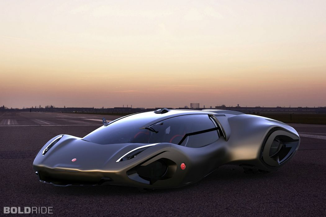 2030 Bizzarrini Veleno Concept by Borys Dabrowski supercar     g wallpaper