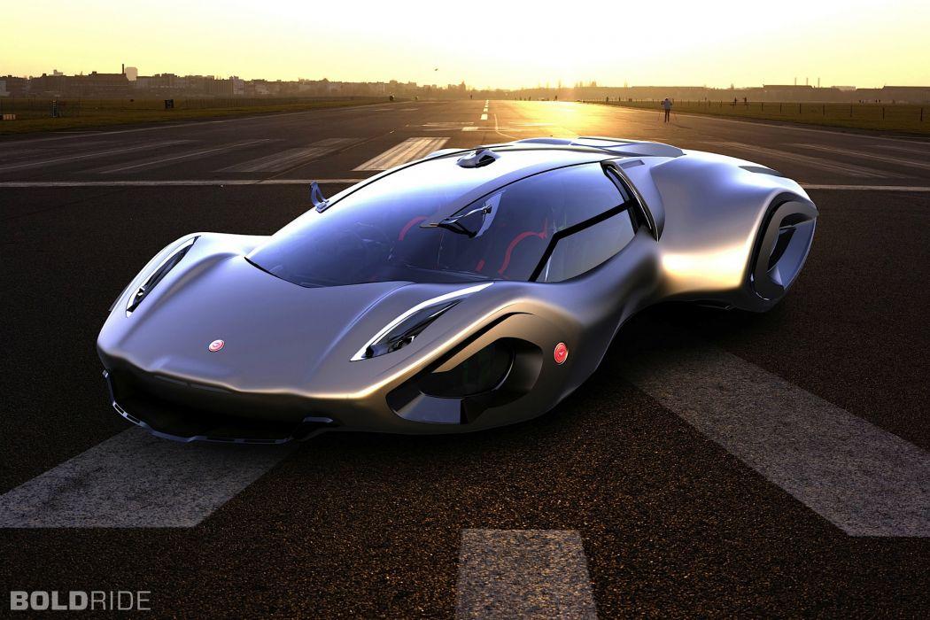 2030 Bizzarrini Veleno Concept by Borys Dabrowski supercar ... Year 2030 Cars
