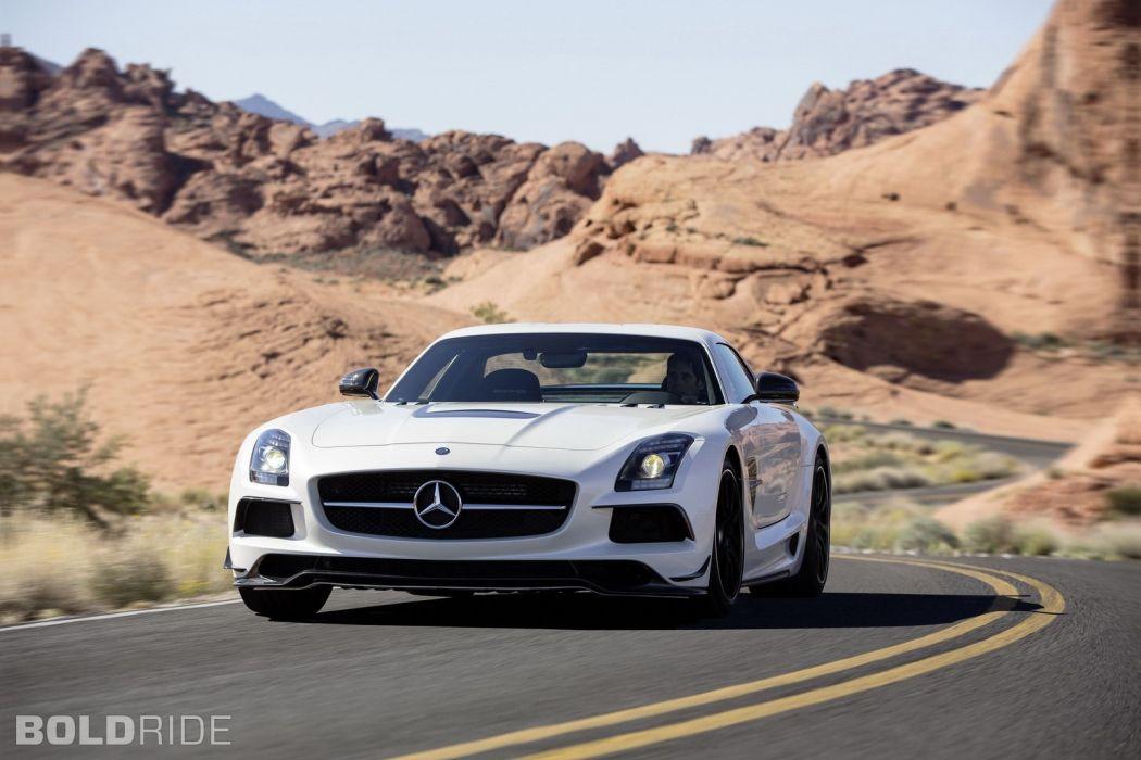 2014 Mercedes Benz SLS AMG Black Series sportcar      e wallpaper
