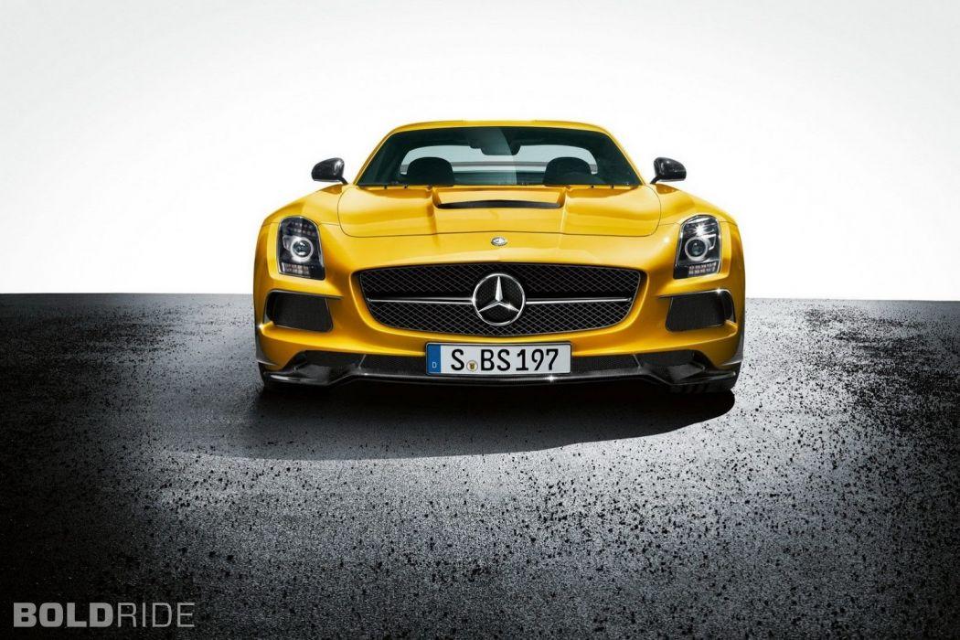 2014 Mercedes Benz SLS AMG Black Series sportcar     w wallpaper