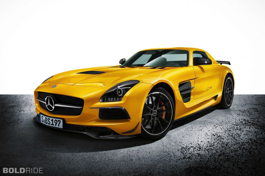2014 Mercedes Benz SLS AMG Black Series sportcar wallpaper