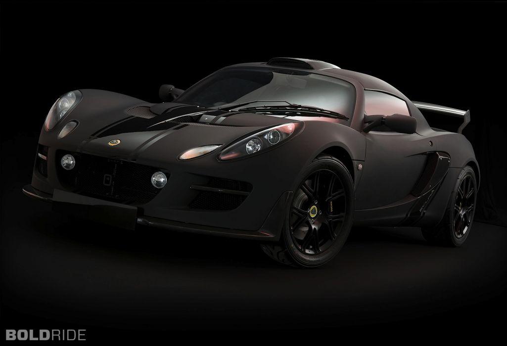2011 Lotus Exige Matte Black supercar wallpaper