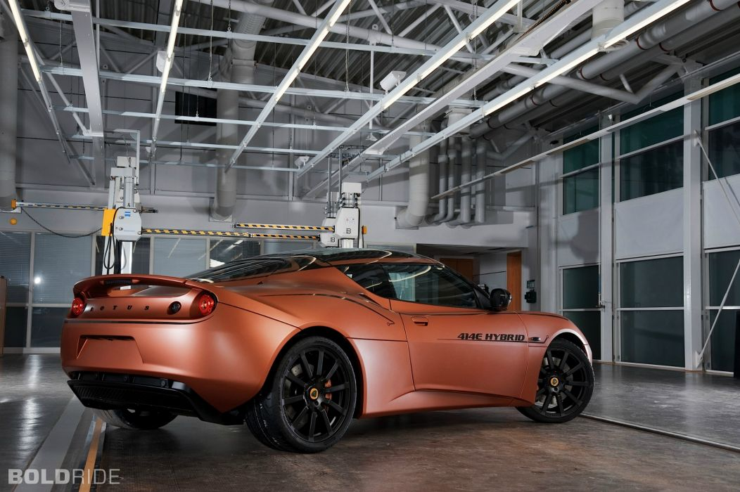 2013 Lotus Evora 414E Hybrid supercar      n wallpaper
