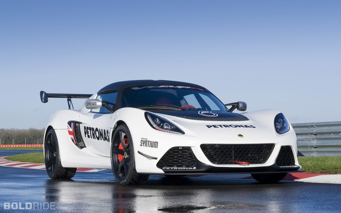 2013 Lotus Exige V6 Cup-R supercar race cars wallpaper