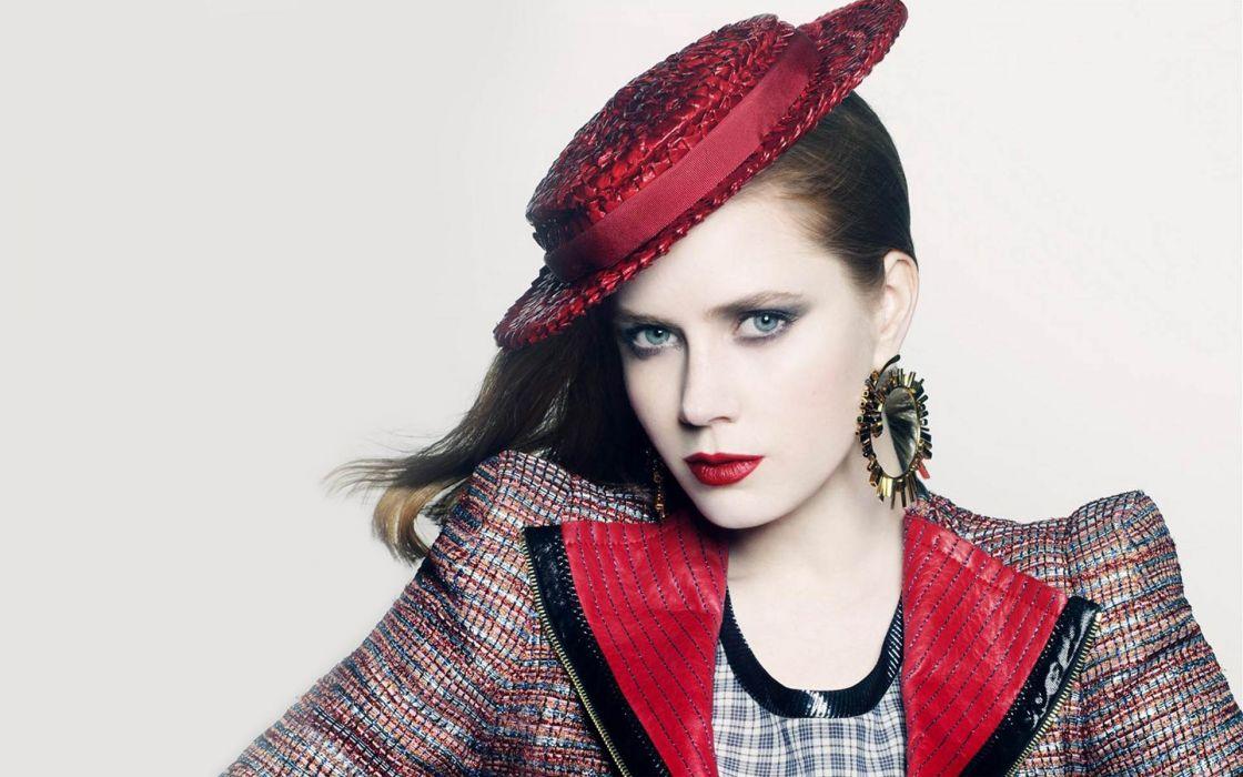 Amy Lou Adams actress singer music women females girls redheads sexy babes face pov       r wallpaper