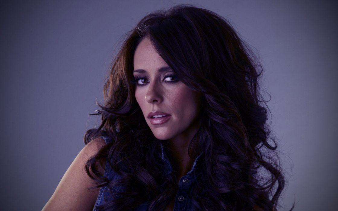 Jennifer Love Hewitt actress women females girls celebrity brunettes sexy babes pov face     f wallpaper