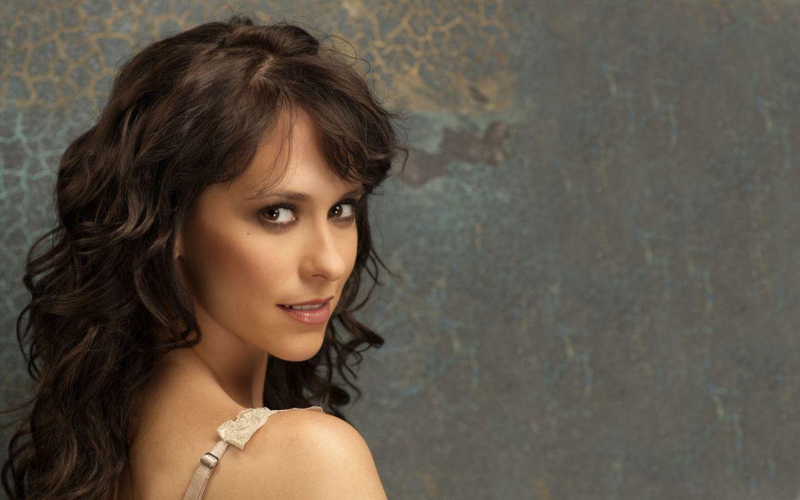 Jennifer Love Hewitt actress women females girls celebrity brunettes sexy babes pov face wallpaper