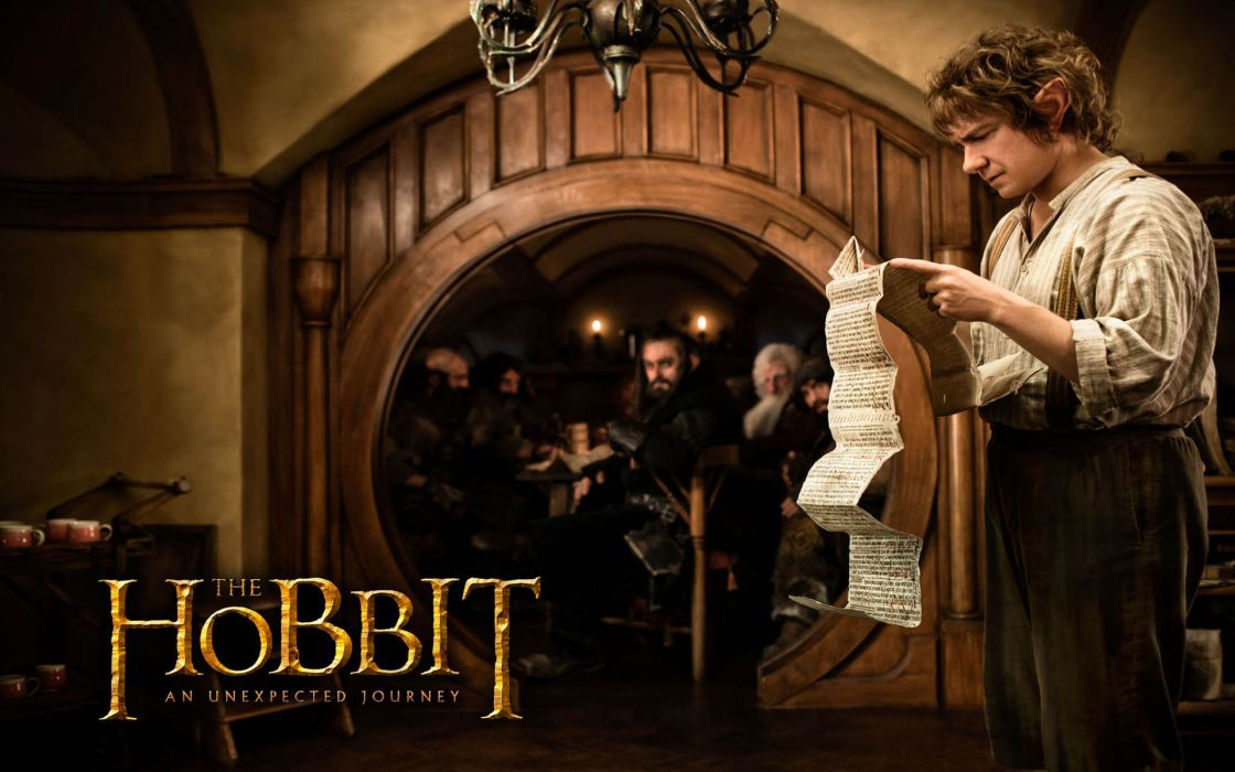 The Hobbit An Unexpected Journey movies fantasy Lord rings      r wallpaper