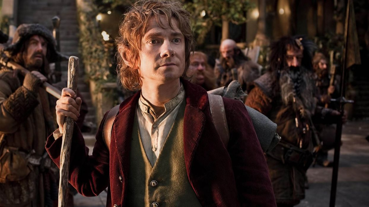 The Hobbit An Unexpected Journey movies fantasy Lord rings      v wallpaper