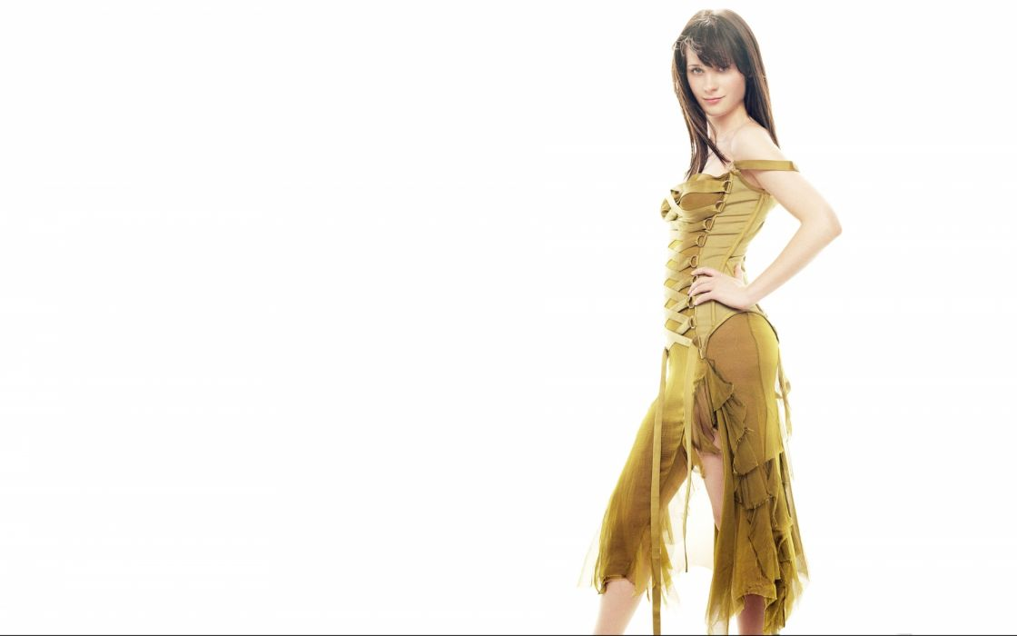 Zooey Deschanel actress women females girls brunettes sexy babes face pov       c wallpaper