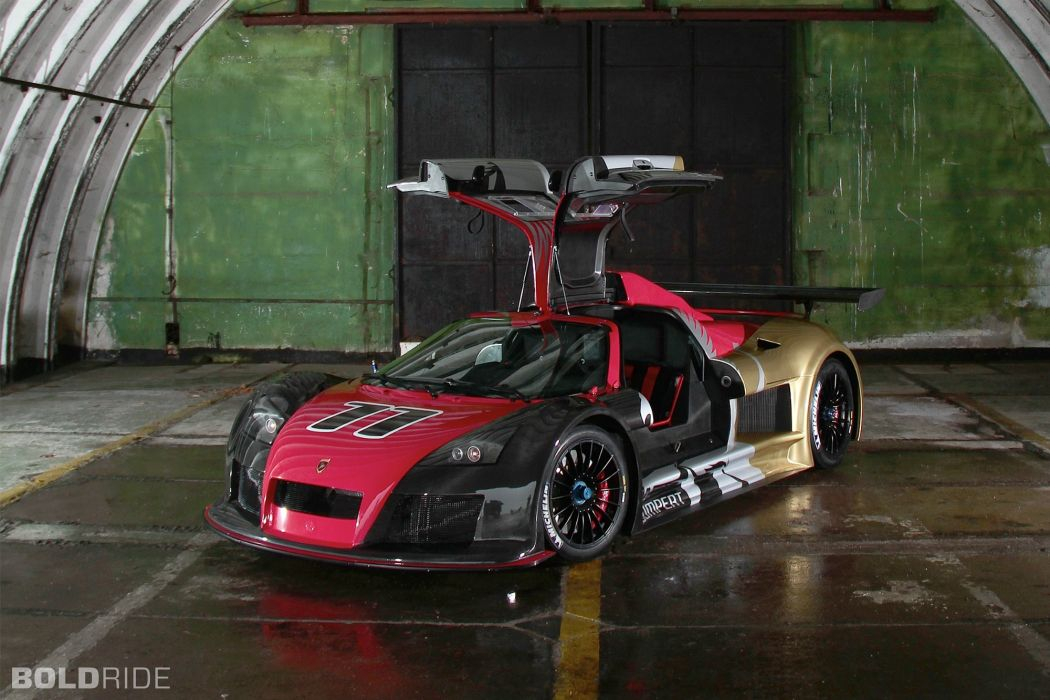 2012 Gumpert Apollo R supercar race cars wallpaper