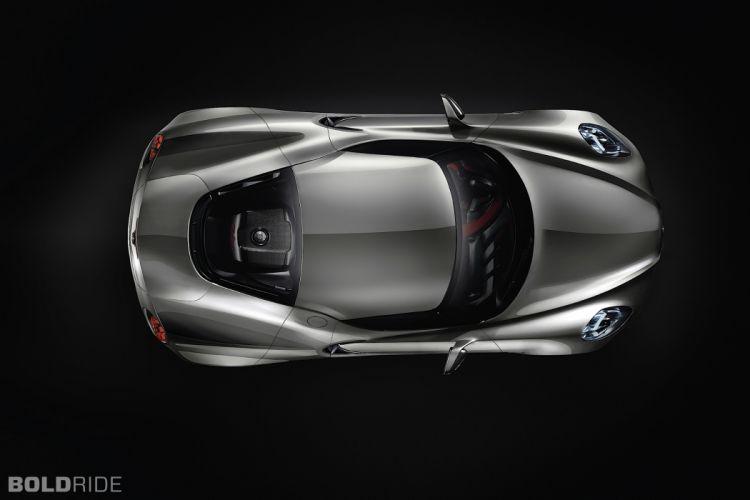 2011 Alfa Romeo 4C Concept supercar r wallpaper