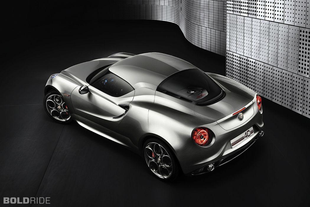 2011 Alfa Romeo 4C Concept supercar        t wallpaper