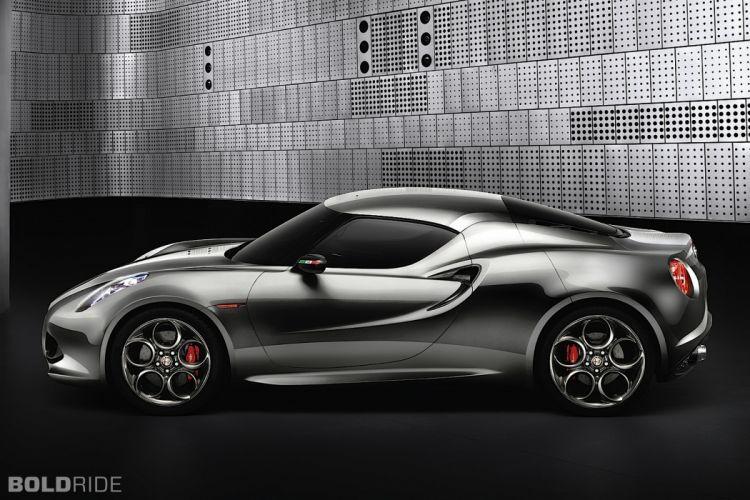 2011 Alfa Romeo 4C Concept supercar f wallpaper