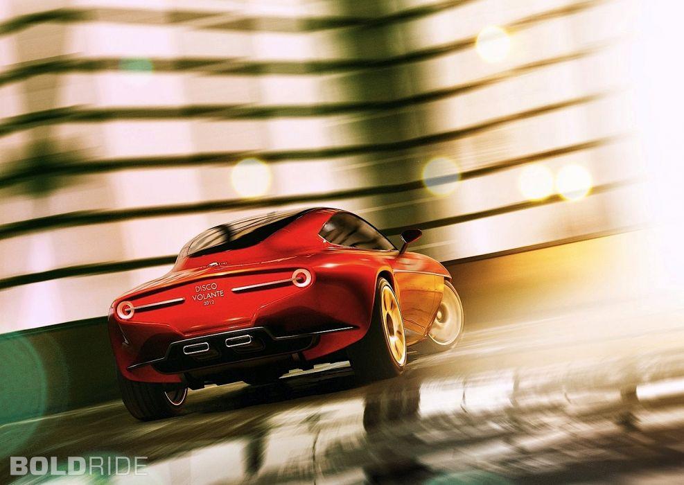 2012 Alfa Romeo Disco Volante Concept sportcar        t wallpaper
