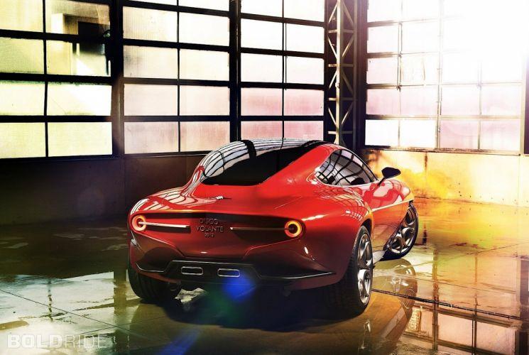 2012 Alfa Romeo Disco Volante Concept sportcar d wallpaper